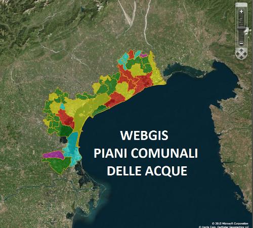Webgis Piani Acque della Città metropolitana di Venezia