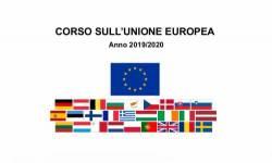 Corso sull'Unione europea 2019-2020