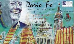 Dario Fo al Museo archeologico di Altino
