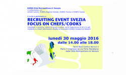 Recruiting event Svezia Focus on Chefs/Cooks