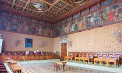 Sala consiliare della Città metropolitana