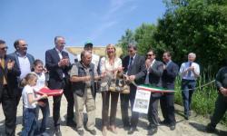 inaugurazione della zona umida a Le Lame di Concordia Sagittaria