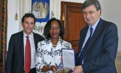 incontro istituzionale a Ca' Corner con l'ambasciatrice del Mozambico