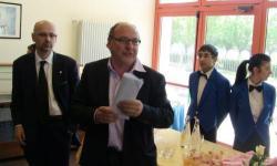 Il saluto dell'assessore Paolino D'Anna e del pres. di Commissione Dal Cin