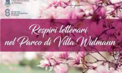 Respiri letterari nel Parco di Villa Widmann