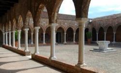 Venezia, chiostro della Madonna dell'Orto, sede della mostra