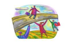 un ponte di solidarietà