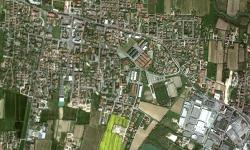 Martellago vista da Google Earth