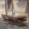 Pietro Fragiacomo, Pescatori, Collezione della Città metropolitana di Venezia