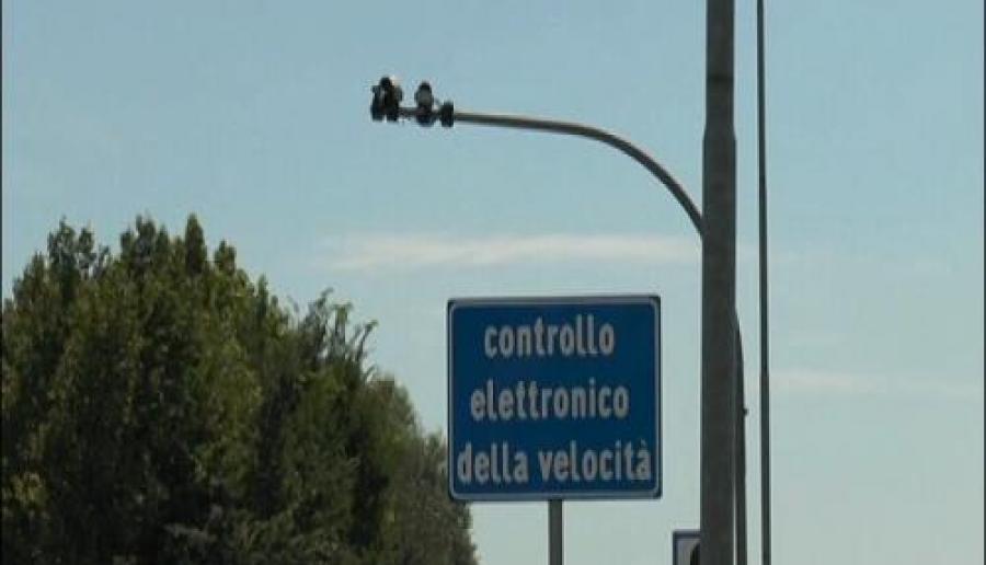 Attivazione autovelox sulle strade metropolitane