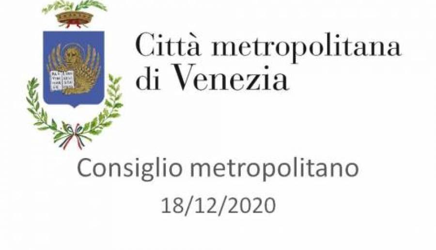 Consiglio metropolitano in diretta streaming