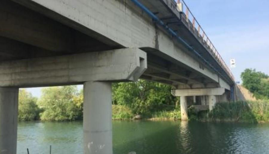 Lavori al ponte sulla SP 43 Portegrandi Caposile