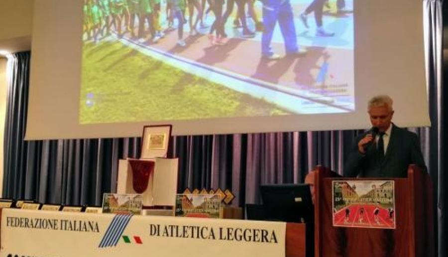 Consigliere Centenaro porta i saluti del Sindaco Brugnaro alla 23ª Festa Atletica Veneziana