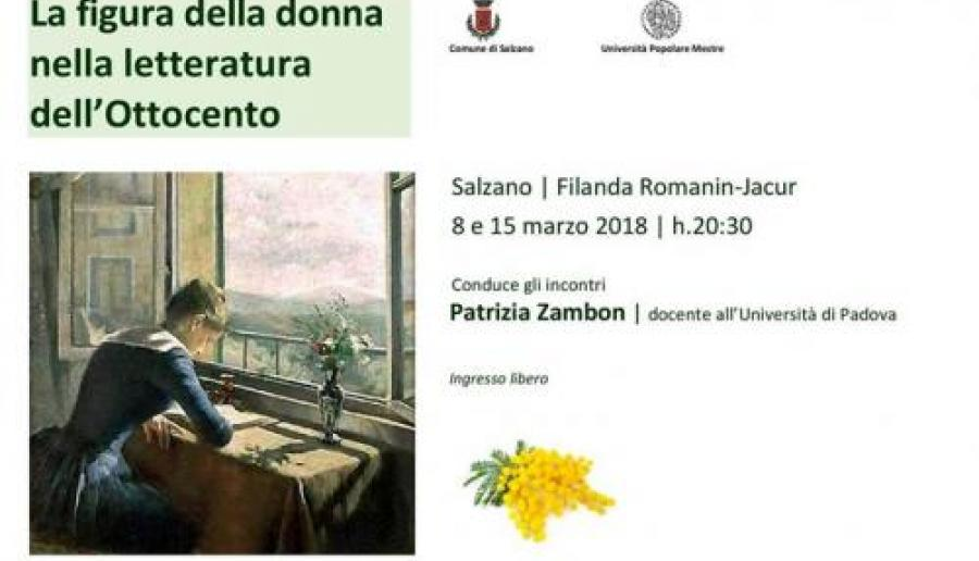 Figura della donna nella letteratura dell'Ottocento a Salzano