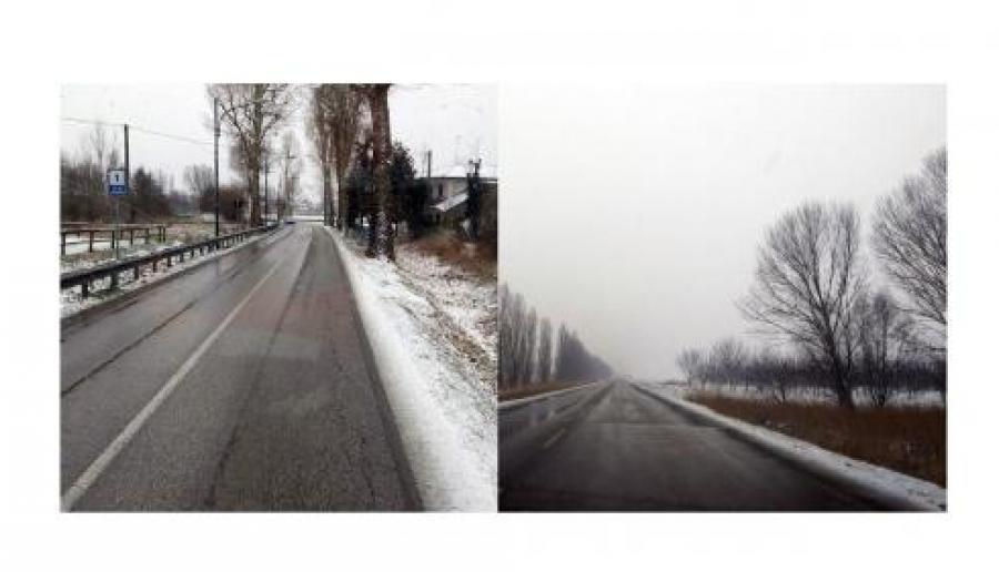 Piano neve: situazione sotto controllo nelle strate provinciali