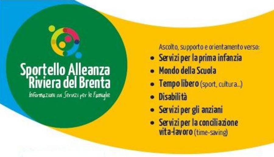 Sportello Alleanza in Riviera del Brenta