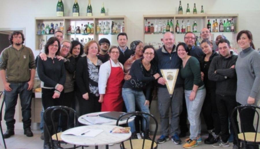 Chioggia, studenti e studentesse del Cfp con Fabiano Mantovan